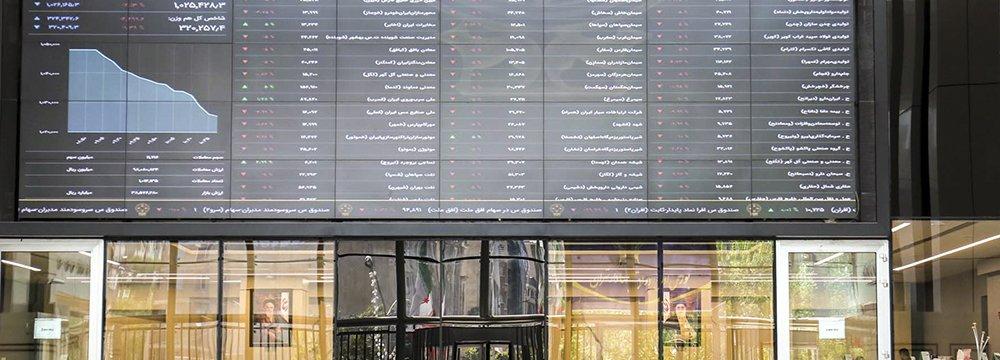 Tehran Stocks Edge Down