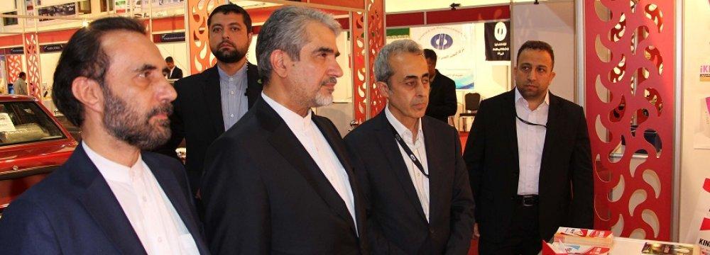 Strong Iranian Presence in Damascus Int'l Fair