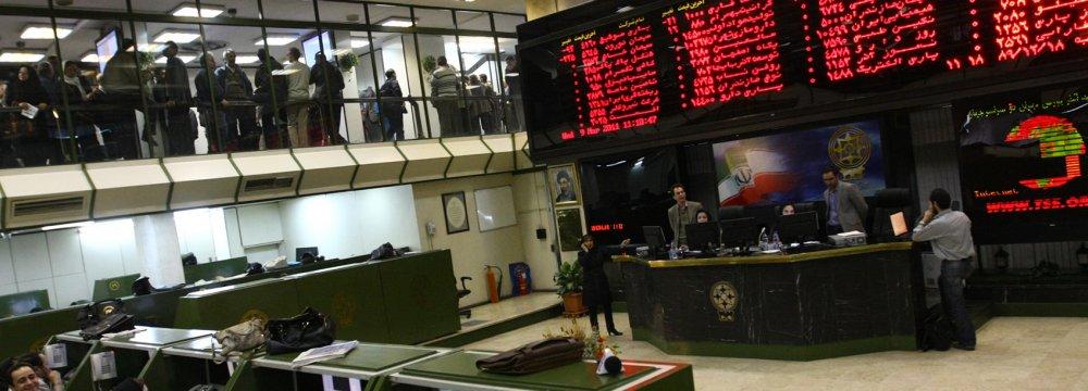 Tehran Stocks Nudge Slightly Higher