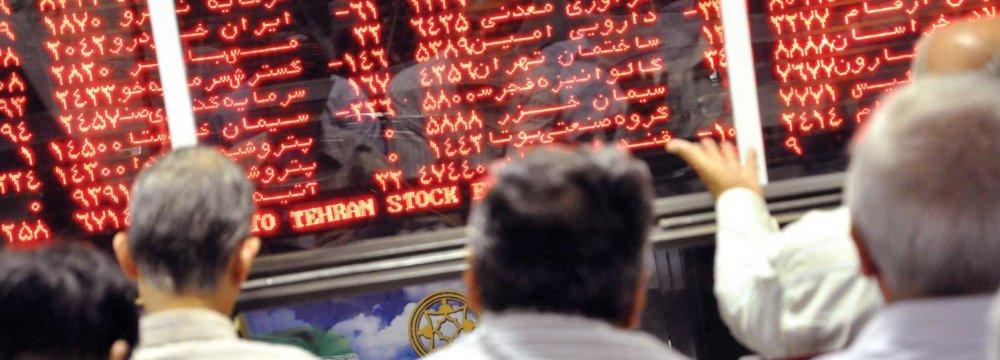 Tehran Stocks Return to Safety
