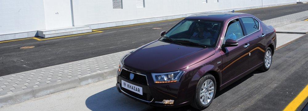 Iran Khodro Makes Inroads Into Azerbaijan Car Market