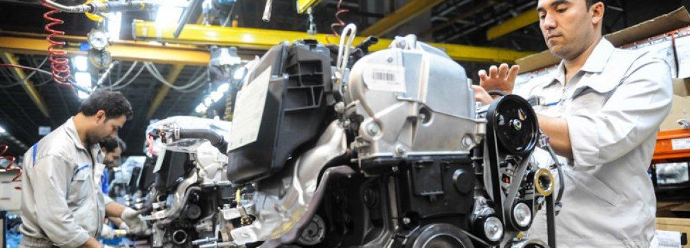 Iran Auto Parts Industry Under the Cosh