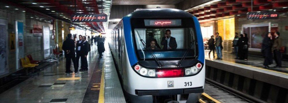 Tehran Metro Line 7 Relaunch Imminent
