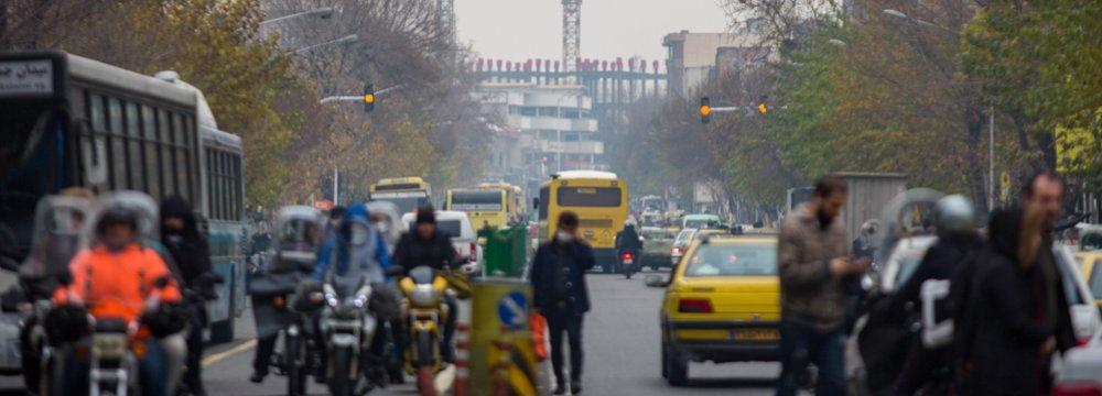 Public Transport Problems and Tehran's All-Pervasive Smog