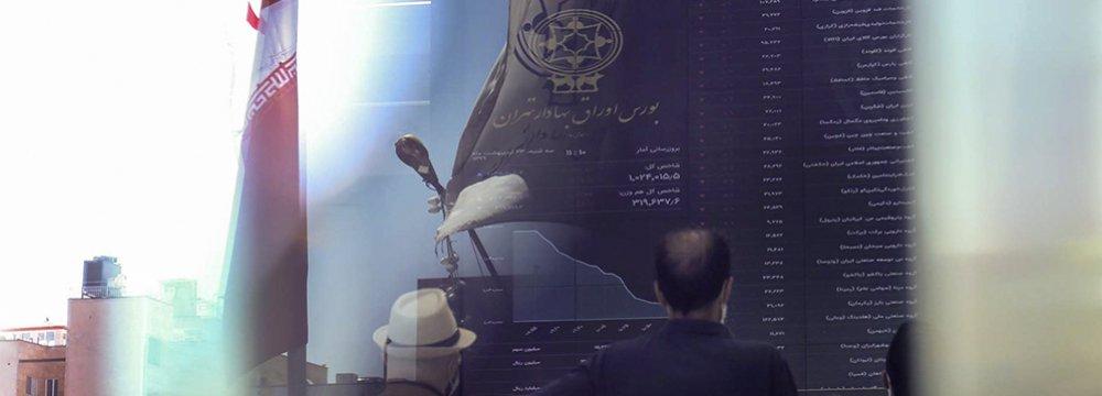 Tehran Stocks Falls Under Relentless Sell-Off