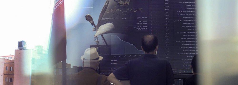 Tehran Stocks Open Lower
