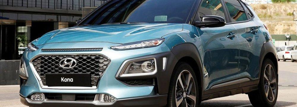 Hyundai Kona's Iran Debut Slated for Summer