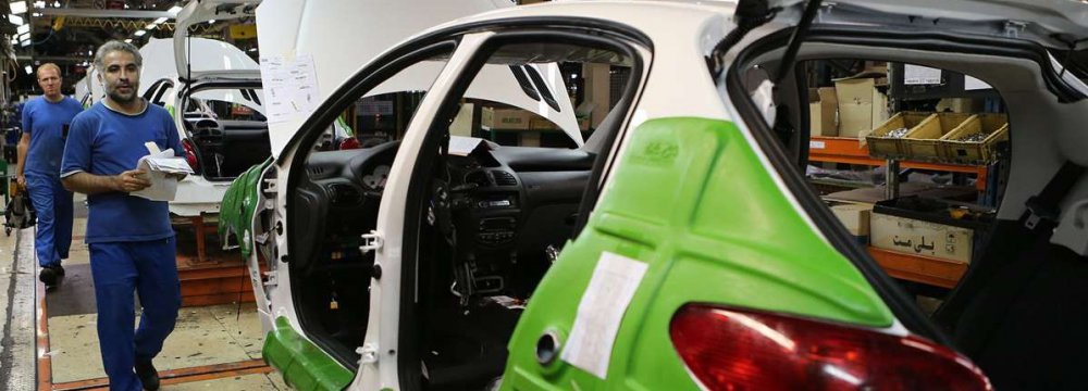 Iranian Government Introduces Rescue Package for Auto Industry