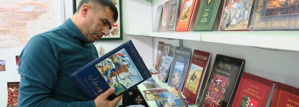 Iranian Publisher Attends Eurasian Book Fair