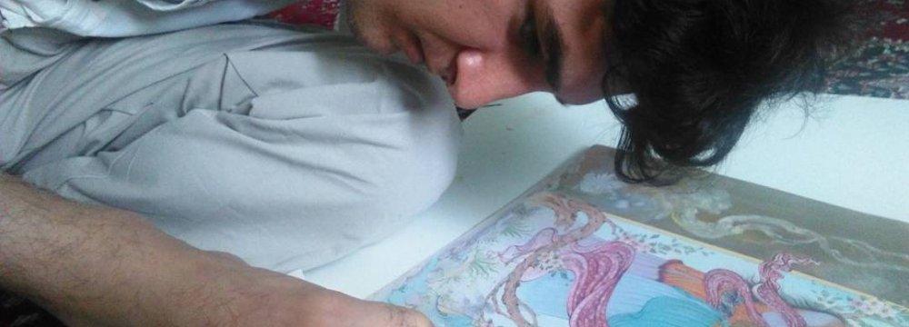 Documentary on Armless Artist in India Film Festival