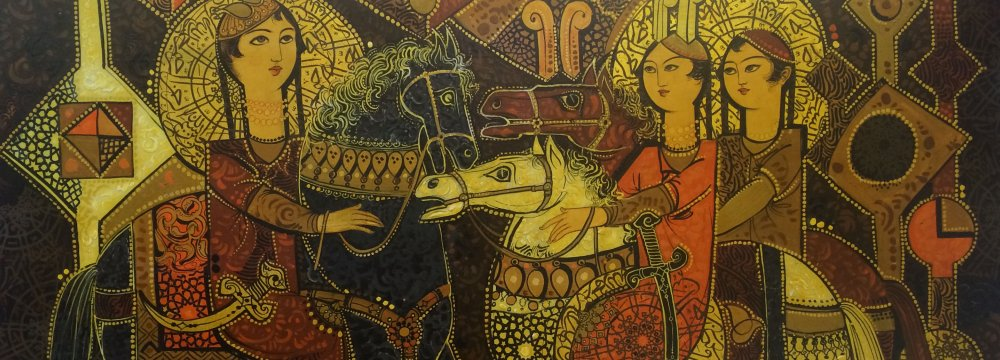 Turko-Iranian Art  Exhibition in Istanbul