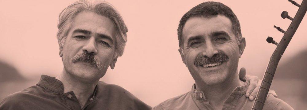 Keyahan Kalhor (L) and Erdal Erzincan