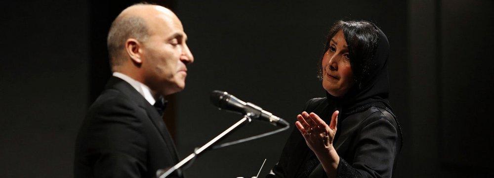 Naghmeh-Baran Concert for Quake Victims