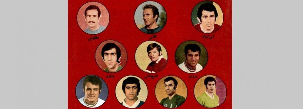 Artworks on Legendary Football Players