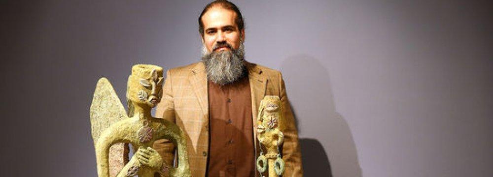 Lorestan Bronze Sculptures on Display