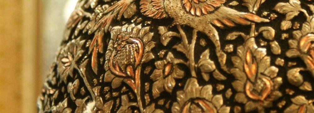 Silverwork Display at Naqsh-e Jahan