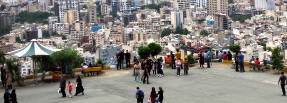 Roof of Tehran