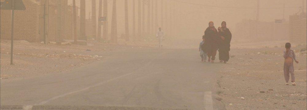 Fine Particles Reach  Acute Levels in Sistan