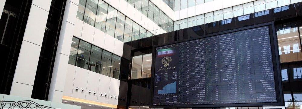 Tehran Stock Exchange Buoyed by Large Caps