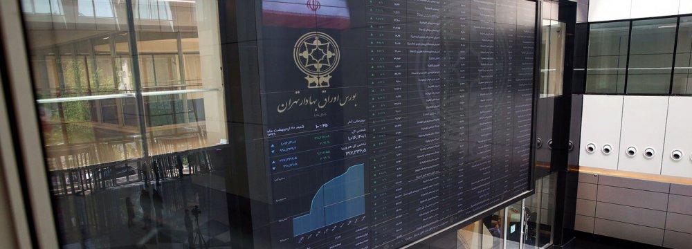 Tehran Shares Lose 0.35%