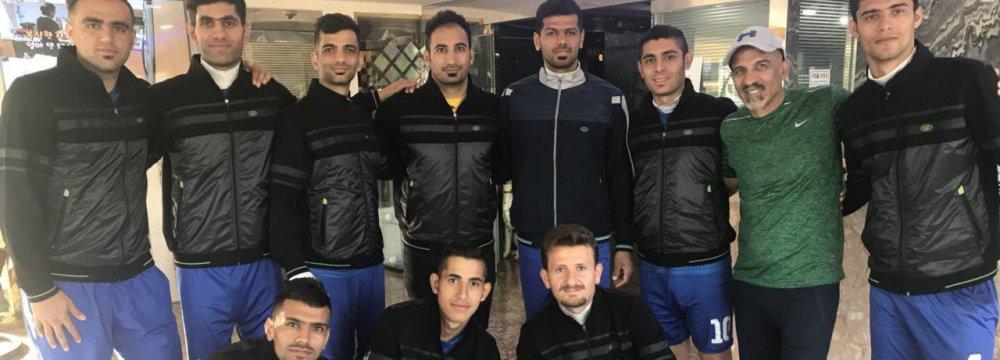 The national deaf football team