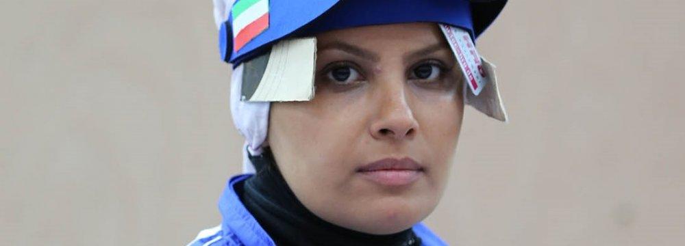 Elaheh Ahmadi Replaces Kimia Alizadeh as Flagbearer