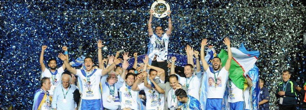 Esteghlal Wins Hazfi Cup