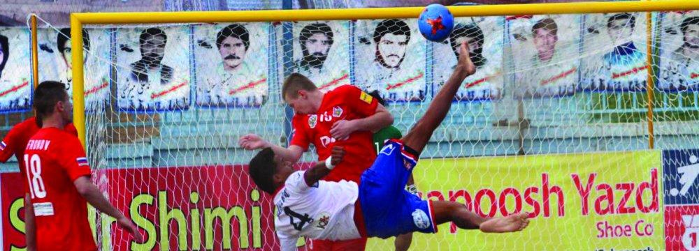 Moghavemat Golsapoosh defeated Levante 2-1.