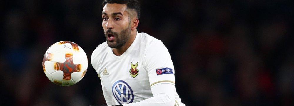 Saman Ghoddos Moves to Rennes