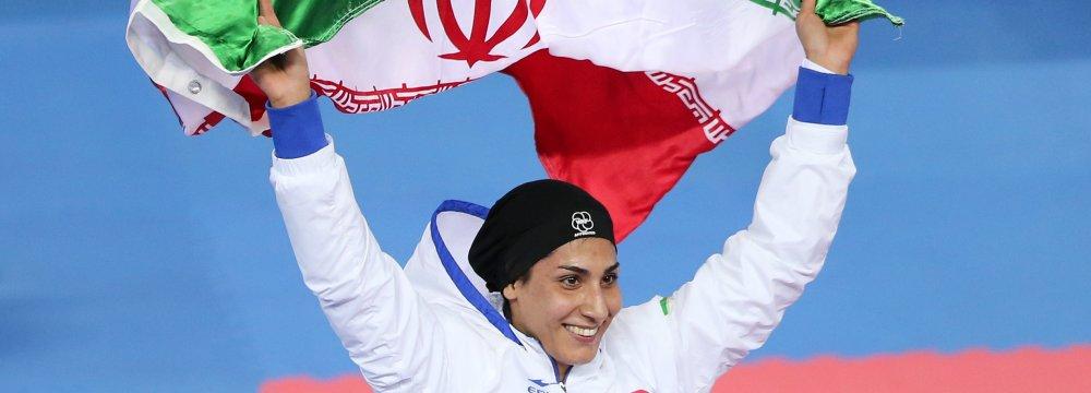 Iran Bags Five Medals at Karate1 Premier League