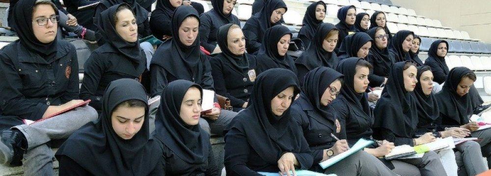 Iranian Women Referees Seeking Int'l Accreditation