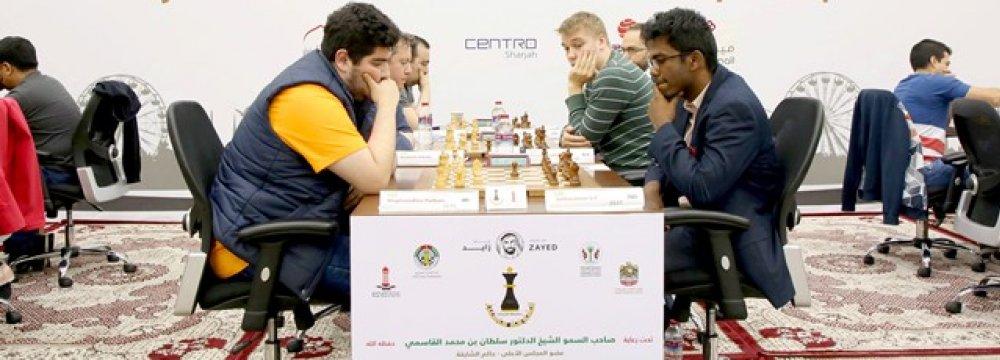 Grandmaster Maghsoodloo Dominates Masters Cup