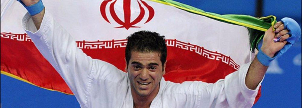 Karateka Vishgahi Wins Bronze in Austria