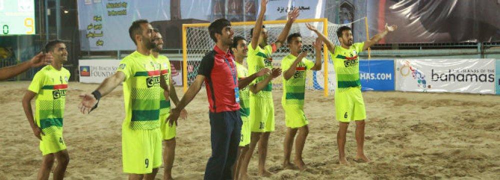 Eurasia Beach Soccer  Cup in Yazd