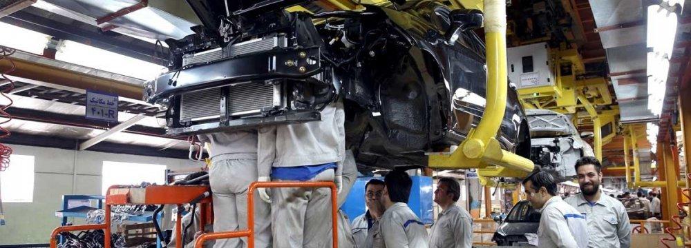 Iran Auto Production Slides
