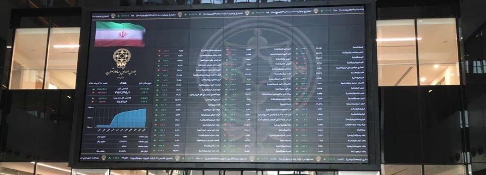 Tehran Stocks Drift Up and Down