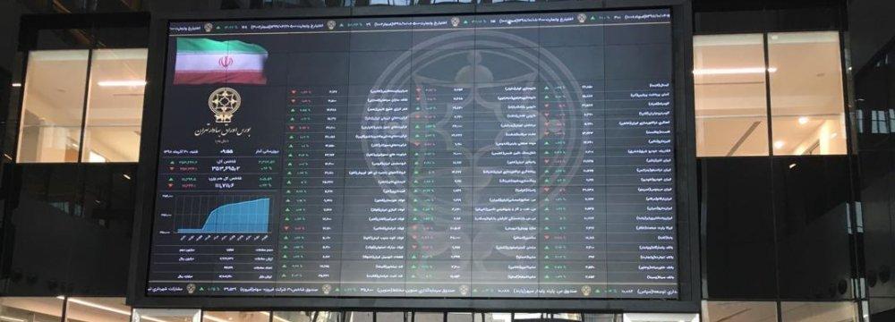 Tehran Stocks Pare Losses