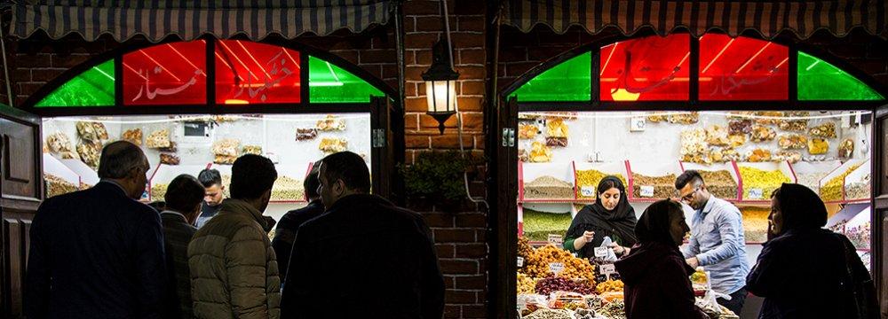 Supply of Fruits, Nuts, Sweets Plentiful for Yalda Night