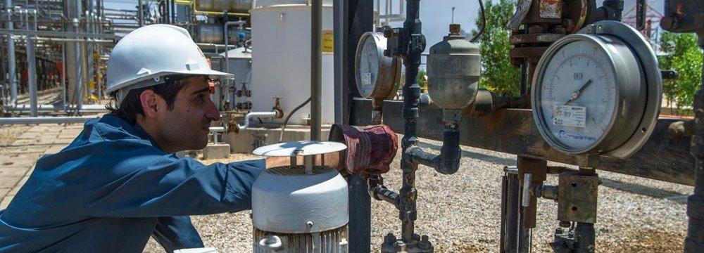 Iran's Q1 Natural Gas Exports Rise 9 Percent