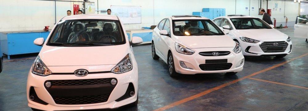 Kerman Motor Unveils Locally Produced Hyundai Accent