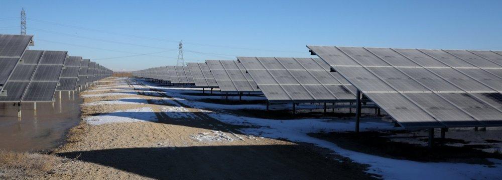 Solar Energy Making New Inroads in Iran's Hamedan
