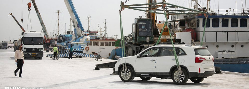 7,500 Imported Cars to Hit Iranian Roads