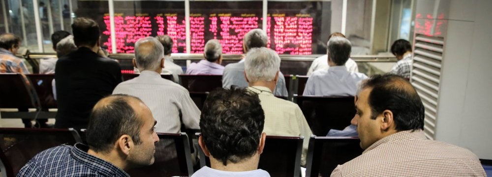 Tehran Stocks Stage Recovery