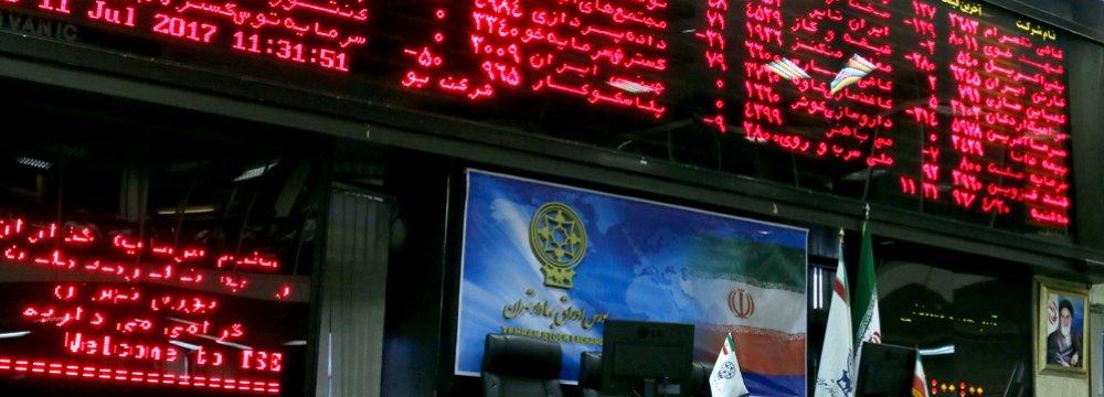 Tehran Stock Exchange Sheds 1,400 Points
