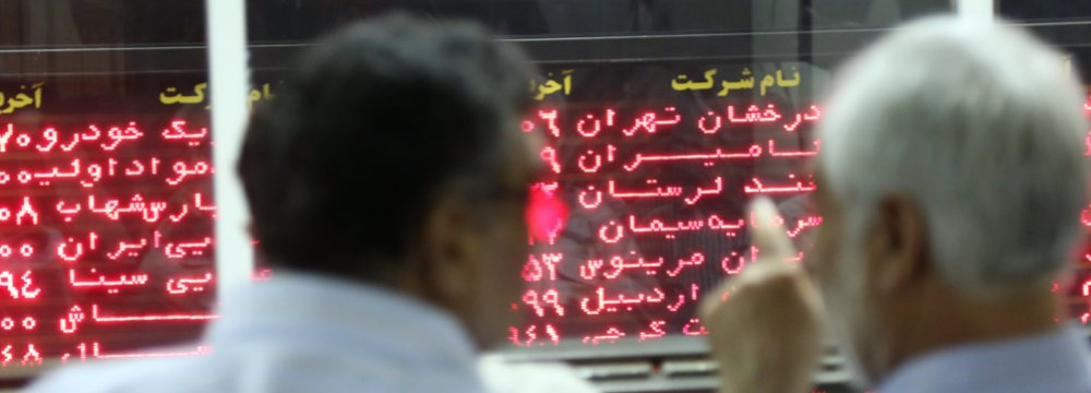 Tehran Stocks Down 1.4 Percent
