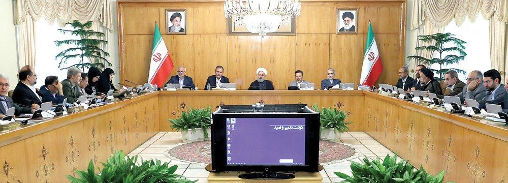 Spare Us This Nonsense,  Rouhani Tells Trump's America
