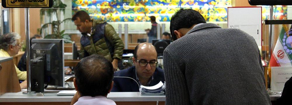 Banks Deposits Rise to $182b in Iran