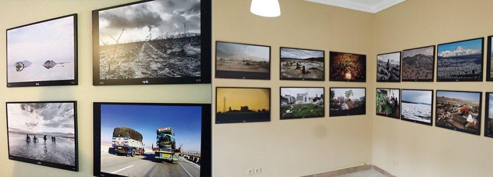 Views of the exhibition at Negarestan Garden Museum
