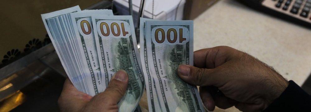 Dollar Down in Tehran