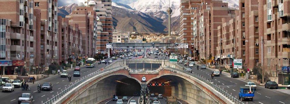 New Traffic Scheme for Tehran